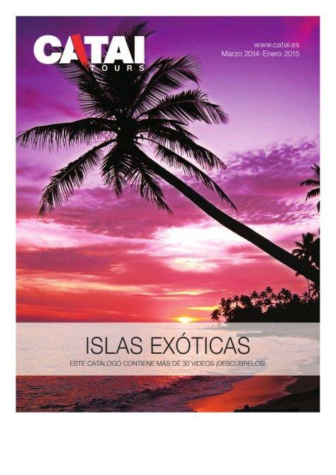 catálogo islas exóticas catai 2014
