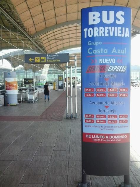 Bus aeropuerto de Alicante-Torrevieja,horarios autobus aeropuerto Alicante Torrevieja,aeropuerto torrevieja
