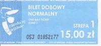 Billete de 24 horas para tren,tranvía bus y metro en Varsovia